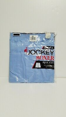 Vintage 90's Jockey 2-pack Men's 40 Full Cut Blue Boxer Shorts NOS Vintage USA