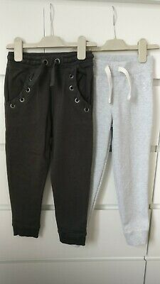 NEXT___2x joggers trousers girl age 5 yrs VGC