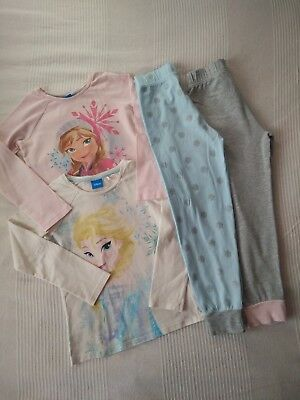 NEXT___FROZEN 2pk pyjamas girl age 7 yrs VGC