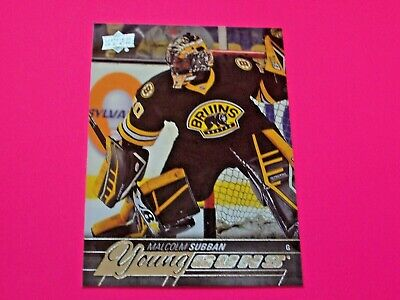 2015-16 UD Young Guns #211 MALCOLM SUBBAN RC ~ ROOKIE upper deck yg ref # 19 20