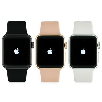 Apple Watch Series 4 44MM GPS + GSM LTE Cellular Gray Silver Gold Aluminum Case