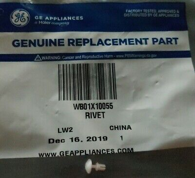 Brand new Genuine WB01X10055 GE Microwave Rivet Assy, fact sealed. Make an offer