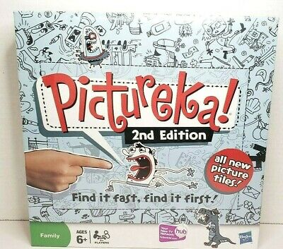 New Sealed Parker Brothers Hasbros Pictureka! Board Game Second Edition 2009