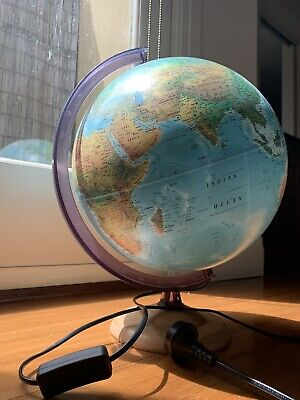 Retro World Globe Lamp