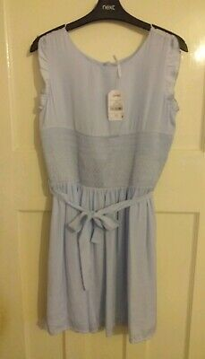BNWT Girls NEXT Pale Blue Special Occasion Party Dress Size 16 Years New