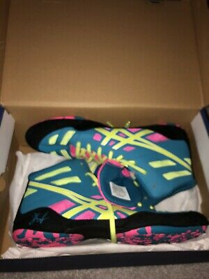 RARE Asics Sissy Aggressor 1 Original Wrestling Shoes Size 10