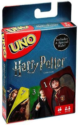 UNO: Harry Potter Special Edition Card Game Mattel DEALS
