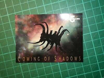 Babylon 5 Premiere Trading Cards Coming of Shadows Chase Card #1 of 9