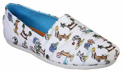Skechers Womens BOBS Playa Pups Shoes