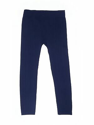 Copper Key Girls Blue Leggings L Youth