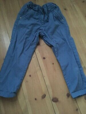 Girls 5 Years NEXT Blue Casual Trousers - Holiday / Summer
