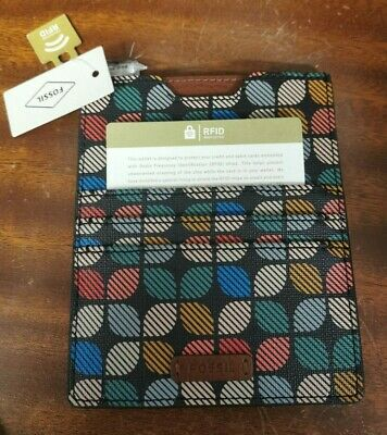 Fossil RFID Passport and Card Case