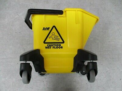 SYR TC20 Industrial Mop Bucket with Heavy Duty Castors