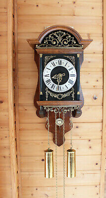 Sallander Dutch Zaanse Wall Clock Warmink Wuba french model