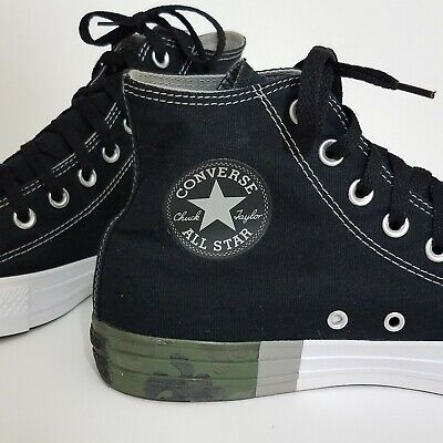 CONVERSE CHUCK TAYLOR TRI PANEL OX 142305F WHITE//CHARCOAL msrp: $55