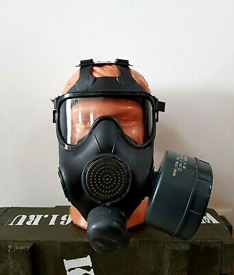 Modern Russian Panoramic Gas Mask Respirator PMK-S for Special Forces. Size L.