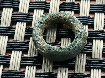 Huge Ancient Celtic Bronze Proto Ring Money Circa 500 Bc Very Rare And Scarce