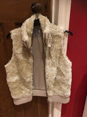 Girls Faux Fur Gillet For 13 Year Old