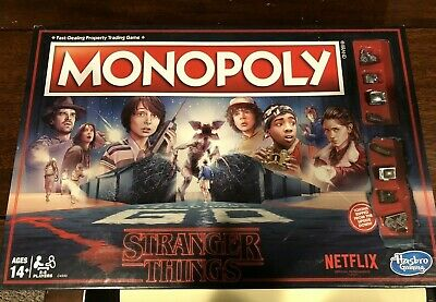 Monopoly Stranger Things Edition Netflix 80s Board Game Hasbro