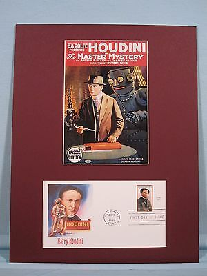 Harry Houdini The Master Mystery 1920 cult movie poster print