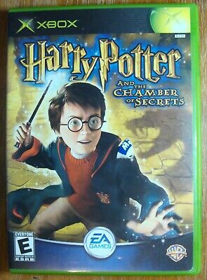 Harry Potter And The Chamber Of Secrets Xbox Microsoft Game Complete