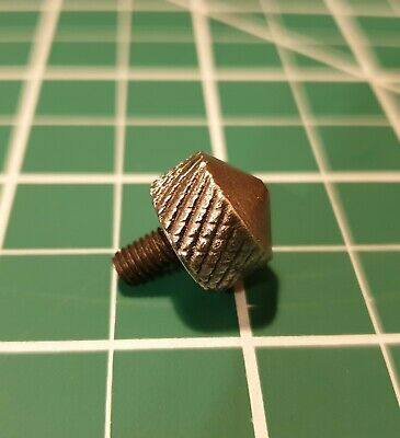 Star Wars Luke V2 ROTJ Lightsaber Custom Made Steel Diamond Knurled Cone knob