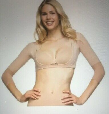 Spanx Arm NWT Believable Toning Arm Shaper Buff Nude Beige Size  1X New