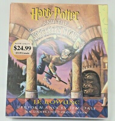 Harry Potter and the Sorcerer's Stone AUDIO Unabridged Complete 7 CD Set