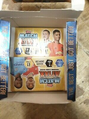Topps Match Attax Season 2019/20 Trading Game  31 Only Card Packs