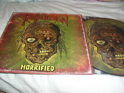 Repulsion -Horrified- Very Hard To Find Ltd Edition Press Vinyl Lp Picture Disc