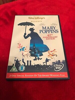 Walt Disney DVD - Mary Poppins - 2 Disc 40th Anniversary Special Edition