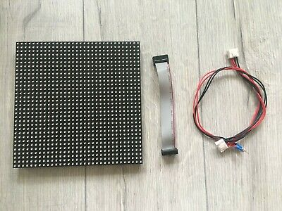32 X 32 RGB LED Panel matrix 1024 pixels arduino raspberry project