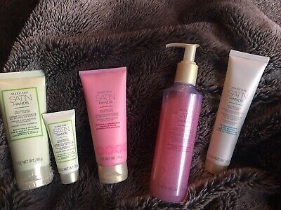 Lot of 5 Mary Kay Satin Hands Bundle Set Great Deal