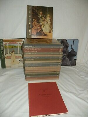 TIME-LIFE:  GREAT AGES OF MAN Complete 21 Vol Set+ Intro Booklet  HC/VGC