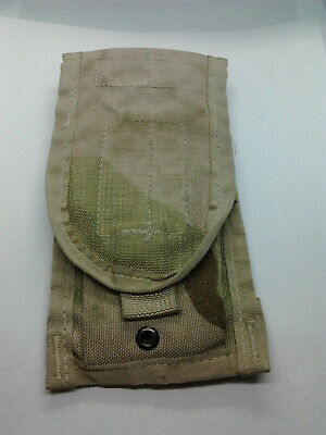 USGI Military Issue MOLLE II Double Mag Pouch 3 Color Desert Camouflage DCU USA