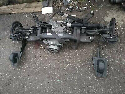 Vw Golf R  S3 Rear Axle Inc Diff And Brakes