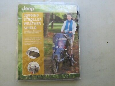 Jeep Jogging Stroller Weather Shield, Baby Rain Cover, Universal Size Fits Most