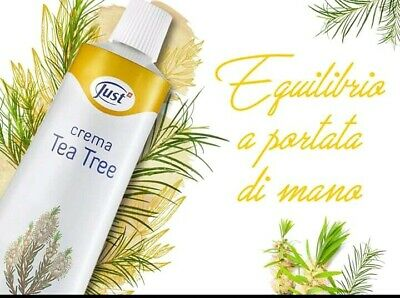 Crema tea tree Just, formato regolare da 100 ml