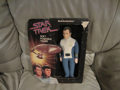 Captain Kirk 1979 Star Trek The Motion Picture Knickerbocker Figure -Nip