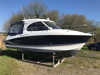 Power Boat Cabin Cruiser Diesel Inboard Fishing leisure Beneteau Antares 8s