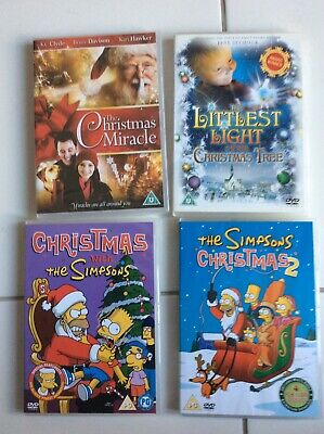 Lovely Selection Of Five Christmas Dvds One Brand-New Suitable For Families