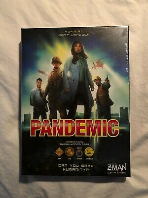 Pandemic Board game - Z-Man Games ZM7101  - BRAND NEW, NEVER OPENED