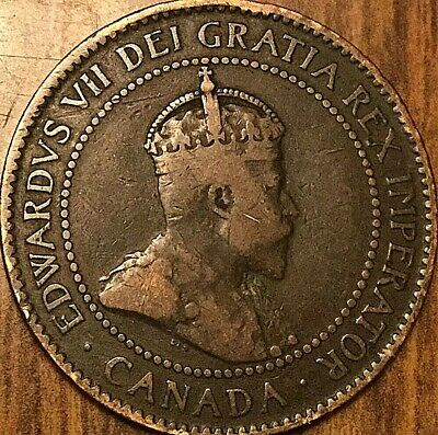 1907H Canada Large Cent 1 Cent Penny Coin