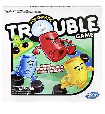 Trouble Game Hasbro Board games Toys