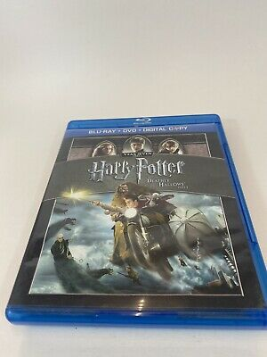 Harry Potter and the Deathly Hallows: Part I And Part 2, 2 Blu-ray Lot Tested