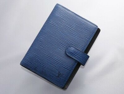 H7745M Authentic Louis Vuitton Epi Agenda Notebook Cover PM