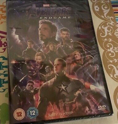 Avengers Endgame DVD marvel studios new