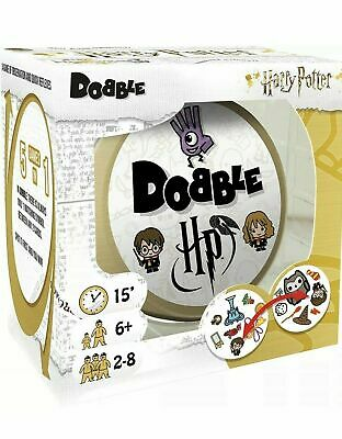 DOBBLE Harry Potter Card Game - Brand New Sealed
