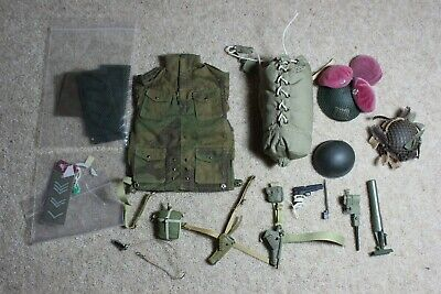 DID// DRAGON 1:6TH SCALE WW2 BRITISH OFFICERS BELT PISTOL /& HOLSTER FROM JOHN