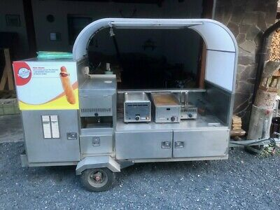 Hot Dog stainless steel food trailer